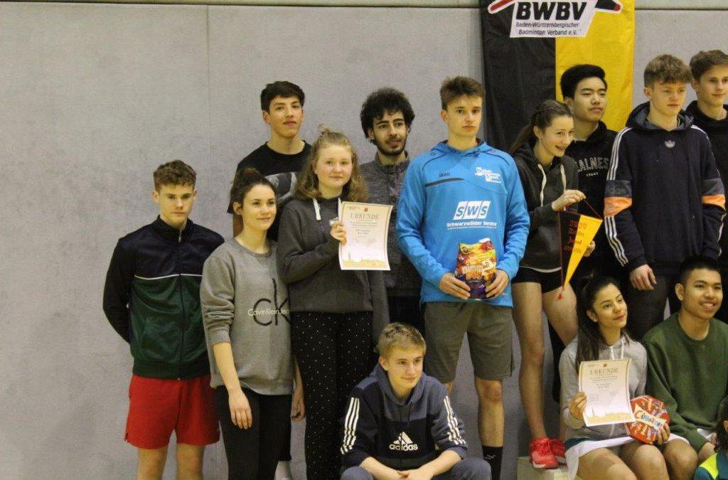 Badminton Jugendmannschaft des PTSV Konstanz wird Vizemeister von Baden-Württemberg