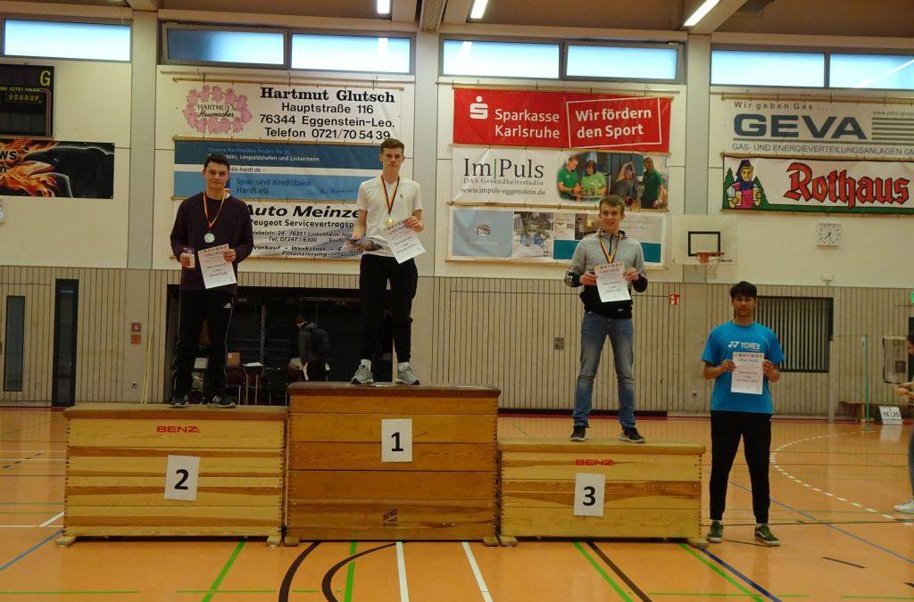 Doppelter Doppelsieg für Konstanz bei der Jugend-C-Rangliste in Eggenstein
