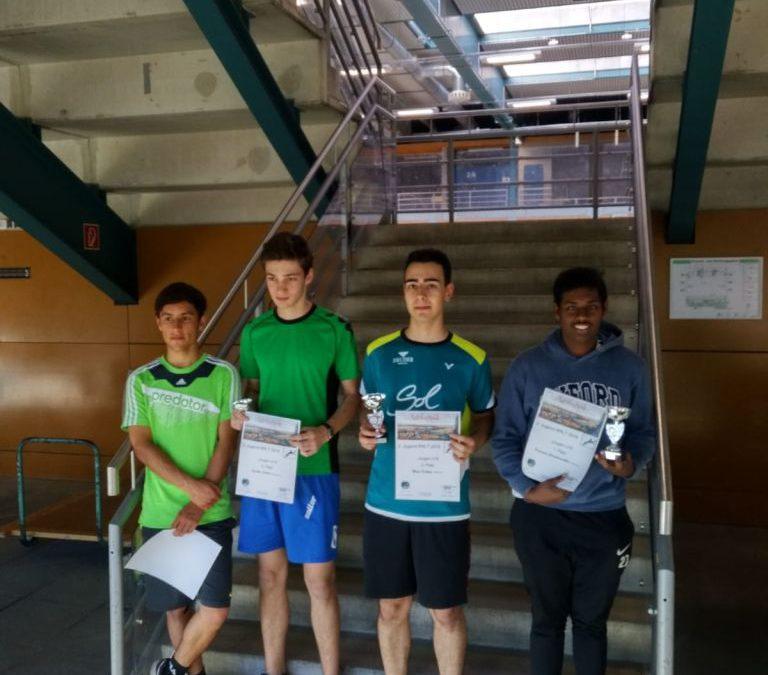 Die 2. Regionalrangliste der Jugend: Erneut solider Auftritt in der Breite garniert mit Top Ergebnissen in der Spitze