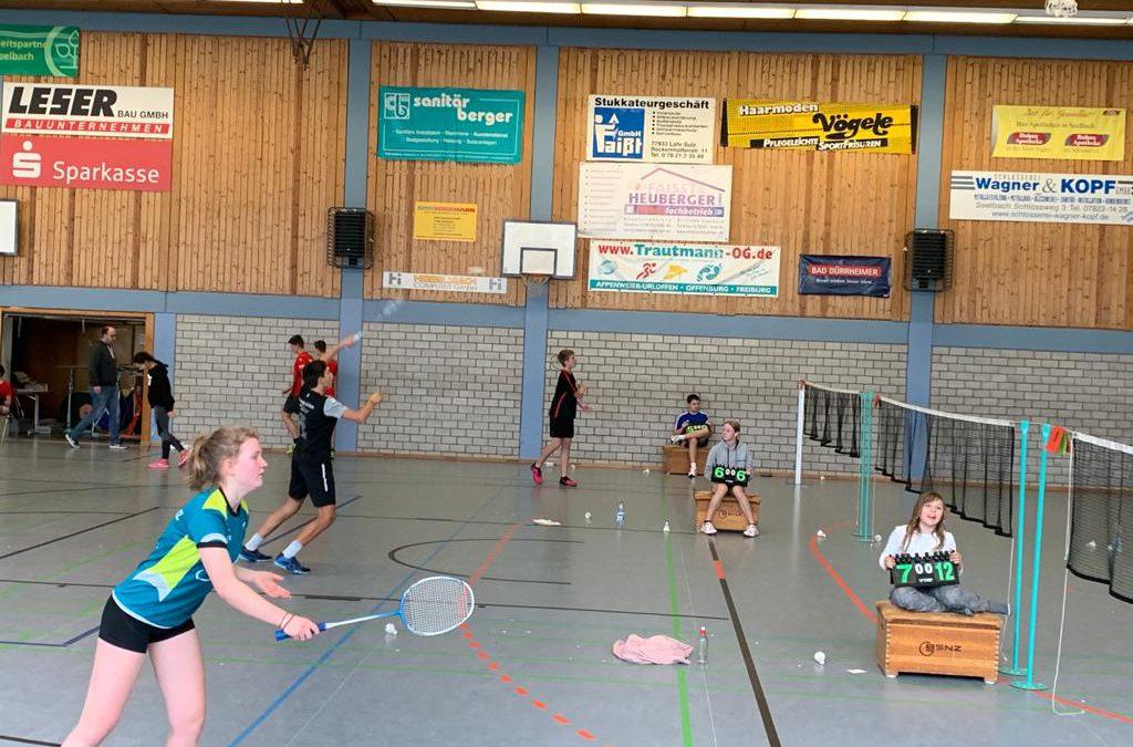 1. D-Rangliste in Seelbach mit einem hervorrangenden 2. Platz von Amalia