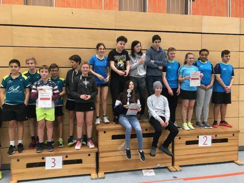 Bezirks-Mannschafts-Meisterschaft der Schüler