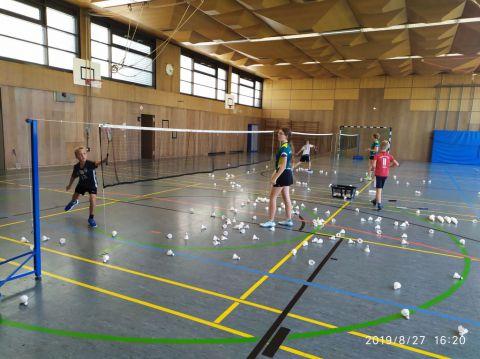 Badminton-Ferienspiele auf der Insel Reichenau