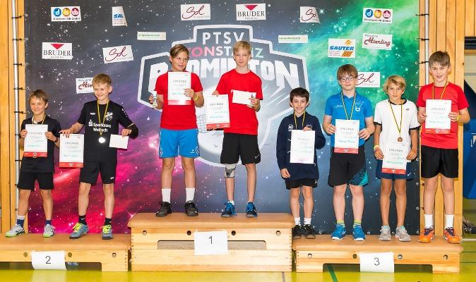 Gold und 2x Silber für Fridolin bei der BW-Meisterschaft